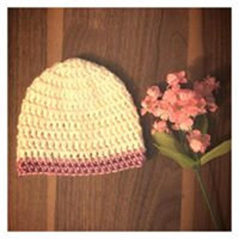 Crochet Basic Beanie Pattern Crochet beanie pattern Unisex beanie pattern beanie pattern