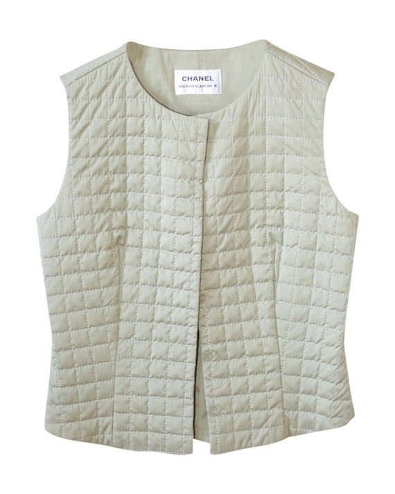 Chanel quilted vest
