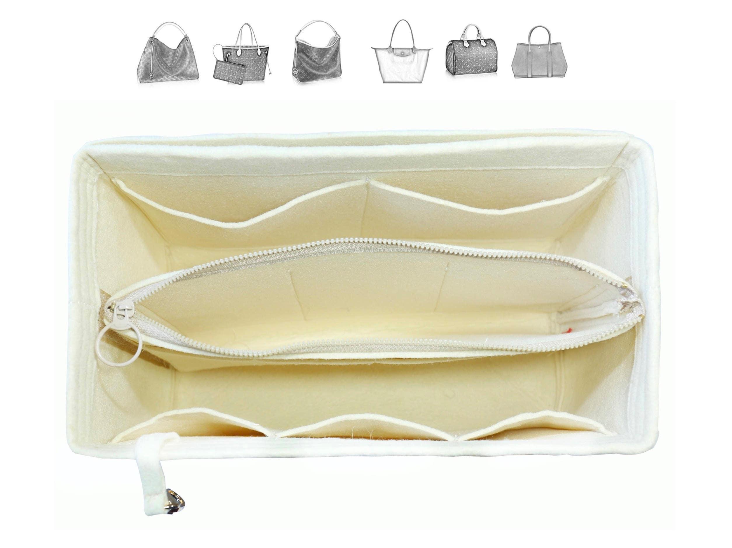 c5b08d5290 Customizable Purse Organizer (w/ Detachable Zipper Bag), Tote Felt ...