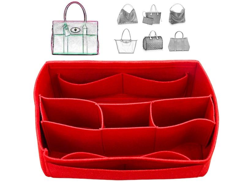 Customizable Organizer w/ Detachable Compartments Tote Felt image 0