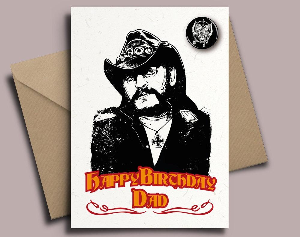 Motorhead Lemmy Heavy Metal Geburtstag Oder Was Auch Immer Etsy
