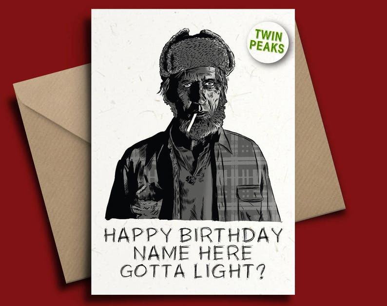 Captain Sensible Punk The Damned Personalised Birthday Card with Badge Option