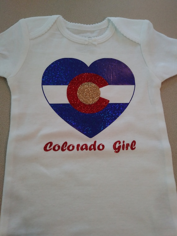 NEWBABY Colorado Flag Unisex Baby Short Sleeves Bodysuit For 0-24m Baby