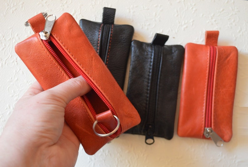 Leather Key Holder Useful Gift For Mother Womens