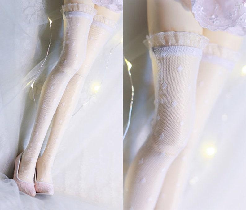 5d15282a15 Vestiti della bambola BJD MSD SD calzini calzini lunghi di | Etsy