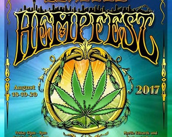 Seattle HEMPFEST® Official 2009-20//20 Vision of the Future Poster
