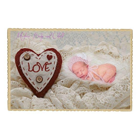 vintage valentine s day newborn digital backdrop valentine etsy
