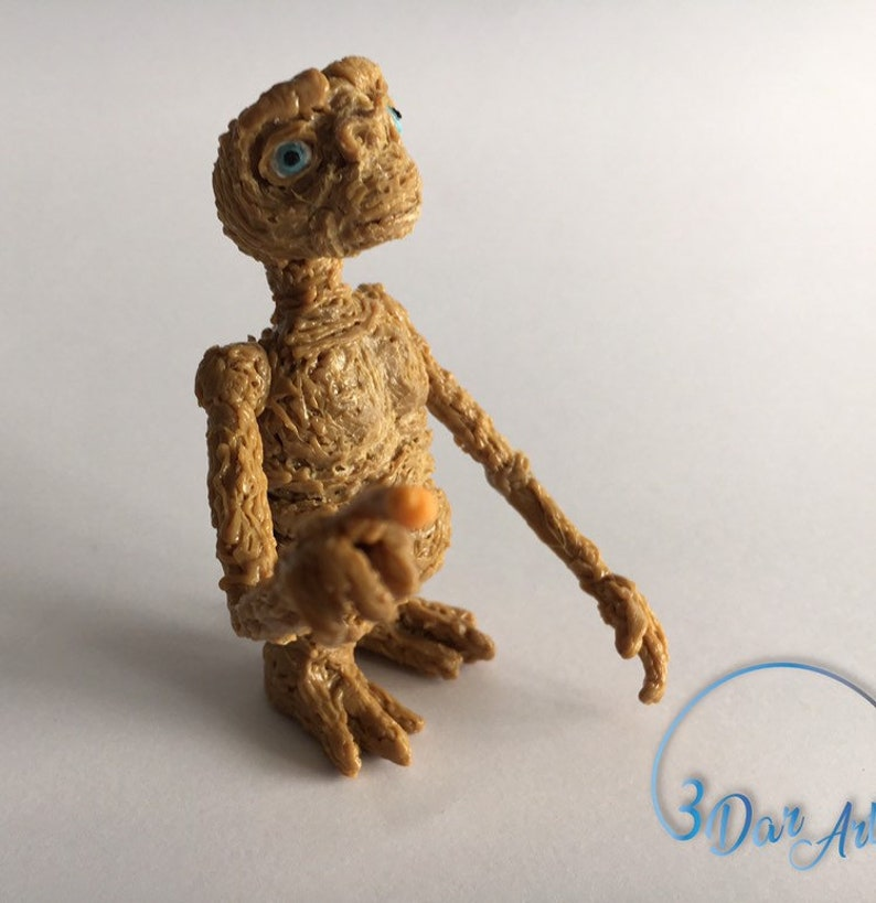 E.T the Extra-Terrestrial handmade3D printed.