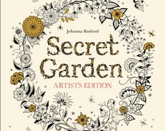 Secret Garden Artists Edition By Johanna Basford