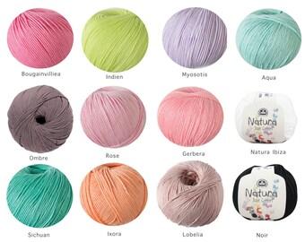 CLEARANCE - Dmc Natura Yummy Yarns (choose Your Colour) - Original Price: AUD 6.50