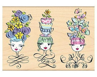 Penny Black Tres Chic Rubber Stamp