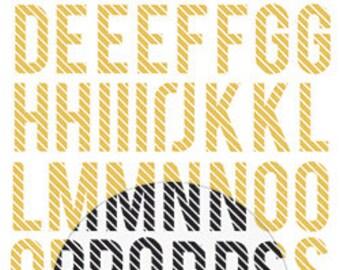 Heidi Swapp Minc Alphabet Stickers