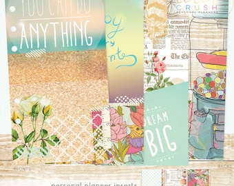 Personal Planner Staying Inspired Inserts