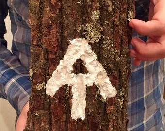 Appalachian Trail Sign, AT on Wood, Perfect gift for hiker, AT gift, hiker gift