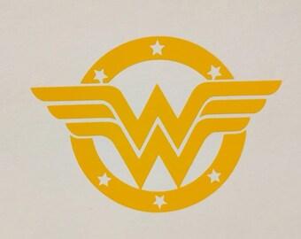 Classic Wonder Woman Decal