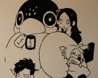 Alex, Nic, and Worick Decal