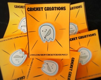 Ghost Pin! Halloween Pin, cute ghost, ghost