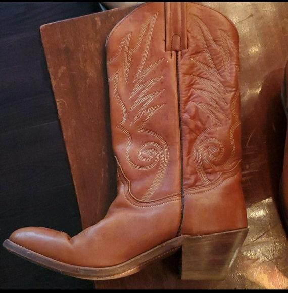 Vintage Frye cowboy boots