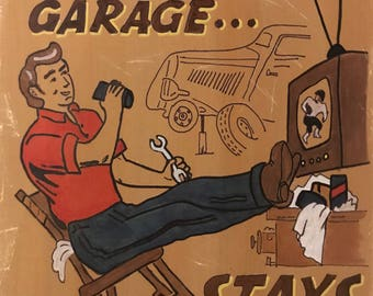 What Happens in the Garage...