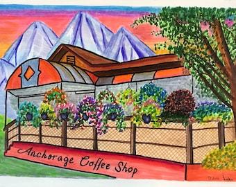 Anchorage Alaska Coffee Shop