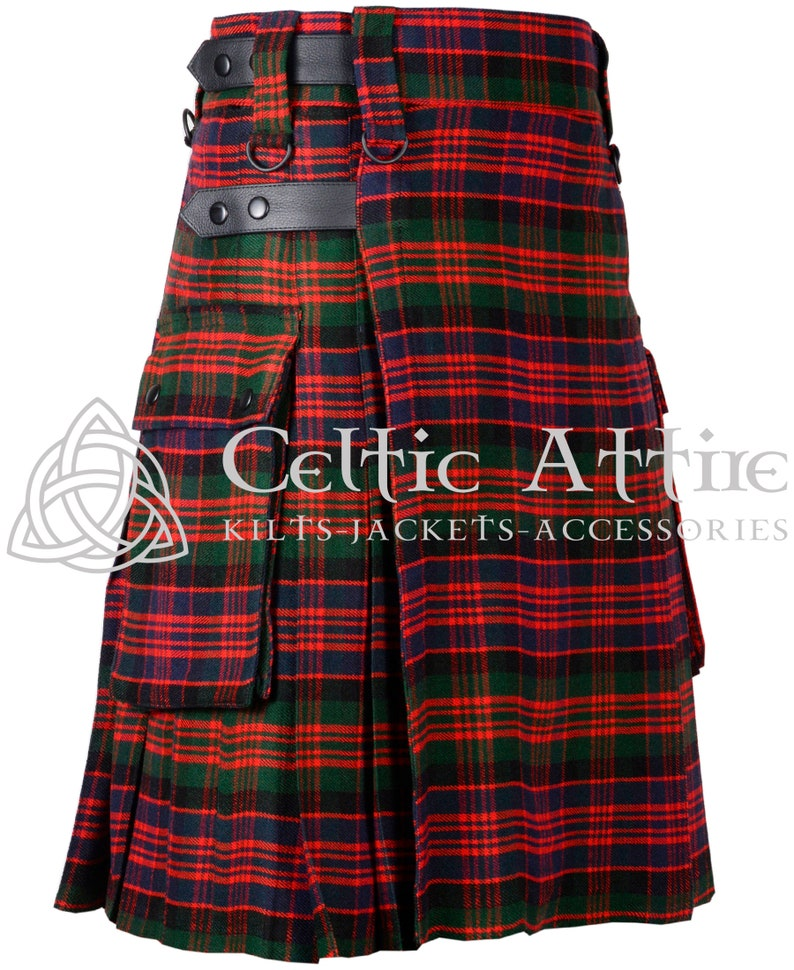 Custom Size  Handmade  Clan Macdoanld  Scottish TARTAN image 0