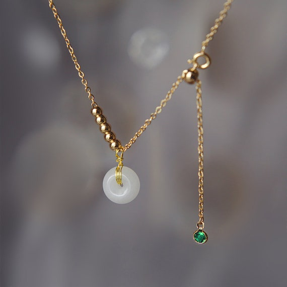 Dainty Choker Jade Choker Gift Stone Choker Jade Necklace Plus Size Choker Jade Choker Dainty Jade Necklace Plus Size Necklace