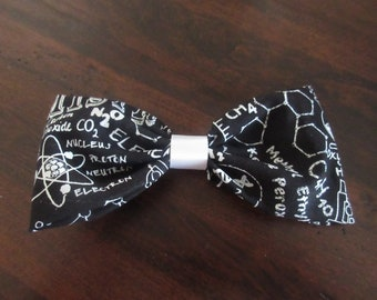 Chemistry Hair Bows, Chemistry Bows, Science Bows, Science Hair Accessories, Chemistry Hair Accessories, Molecular, Geeky, Nerdy