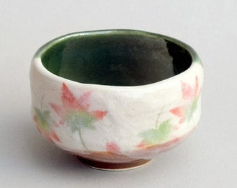 Handcrafted Green Tea Cup MOCIEN Matcha Bowl Traditional Ceremony and Daily Use