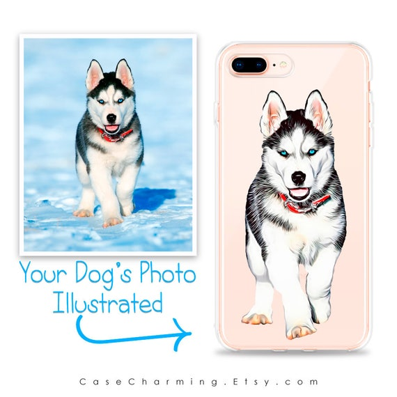 Custom Illustrated Dog Phone Case By Case Charming For Iphone 11 Pro Max Xs Xr X 10s 10r 10 8 Plus 7 6s 6 Se 5s 5