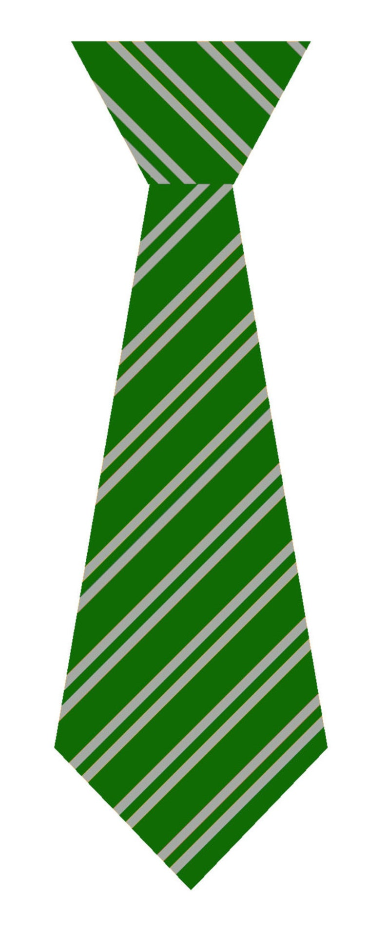 House Color Tie Vinyl Decal, Laptop Decal, House Colors, Green and Silver  Tie, Fandom Decal, Geely Vinyl,Snake House Uniform Tie