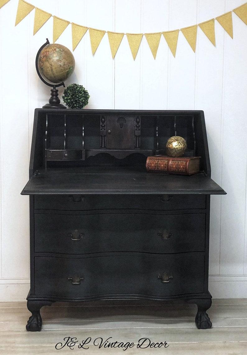 Antique Secretary Desk Etsy >> Sold Secretary Desk