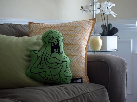 Awe Inspiring Slimer Ghostbusters Throw Pillow Illow 80S Movie Decor Retro Movie Decorative Pillow Large Throw Pillow Cushion Dorm Couch Home Decor Creativecarmelina Interior Chair Design Creativecarmelinacom