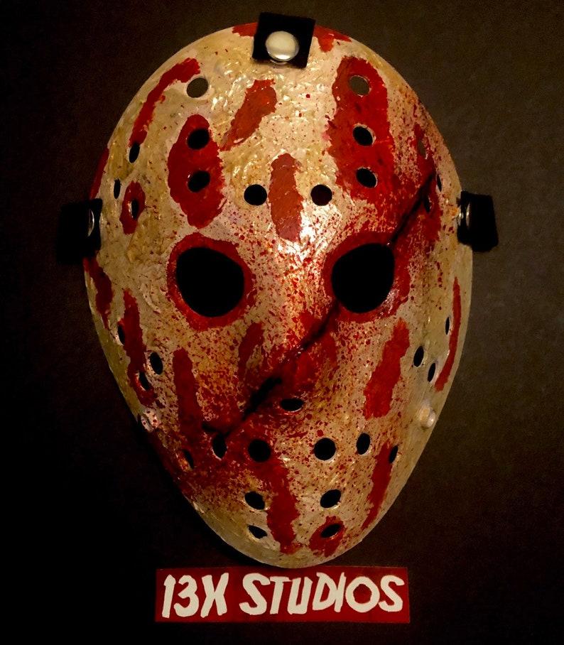 Freddy Krueger 13X Studios Custom Hockey Mask image 0