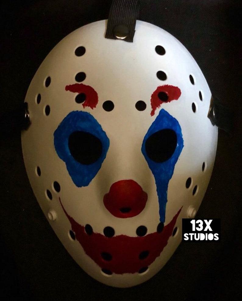 Joaquin Phoenix Joker Custom 13X Studios Hockey Mask image 0