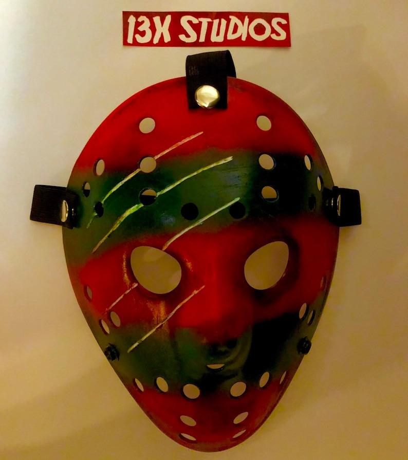 Freddy Sweater custom 13X studios Hockey Mask image 0
