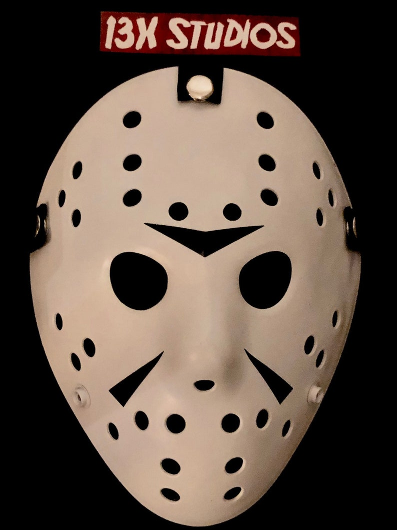 Friday the 13th Part 3 Jason Custom 13X studios Hockey Mask image 0