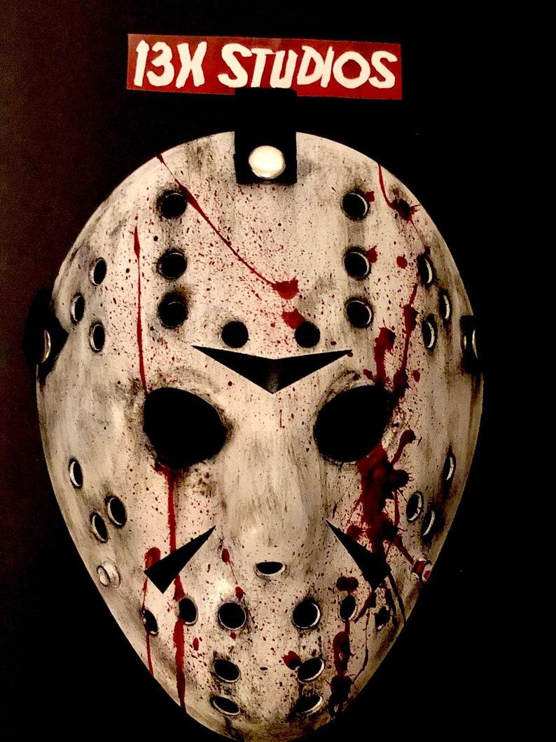 Friday the 13th part 3 Jason Bloody black chevrons 13X Studios image 0