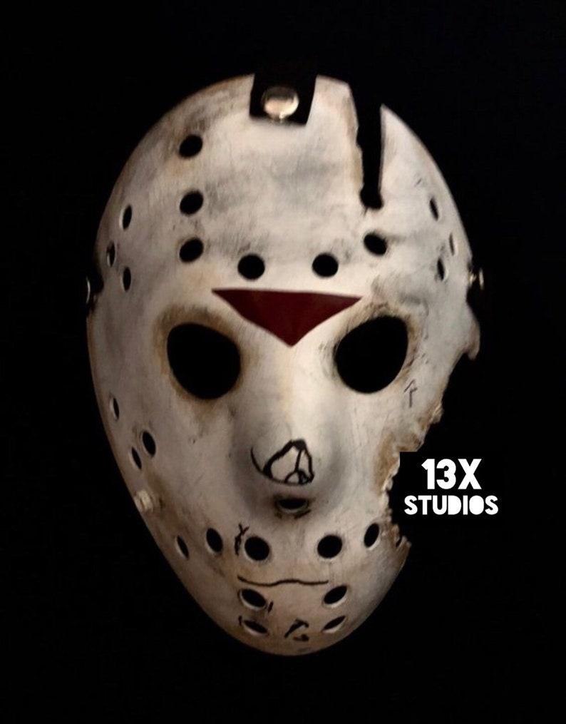 Jason Friday the 13th part 7 Custom 13X Studios Hockey Mask image 0