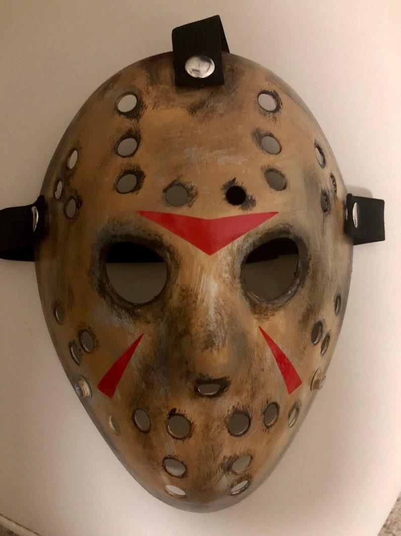 Freddy vs Jason Custom 13X Studios Hockey Mask image 0