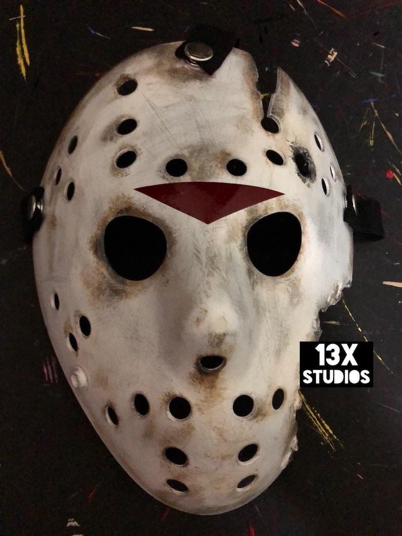 Jason Friday the 13th Part 9 Custom 13X Studios Hockey Mask image 0