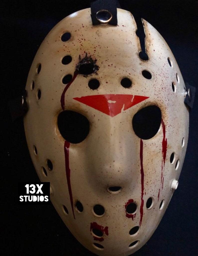 Jason Friday the 13th Part 6 Bullet Hole Custom 13X Studios image 0