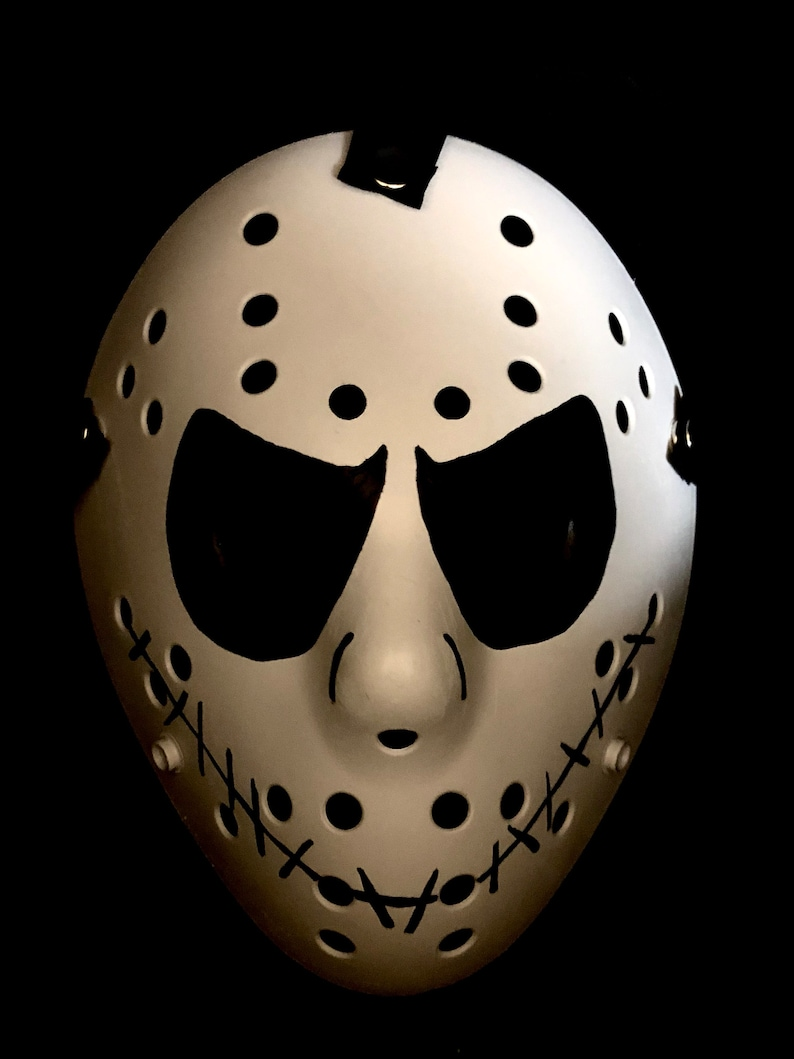 Jack Skellington Custom 13X Studios Hockey Mask image 0
