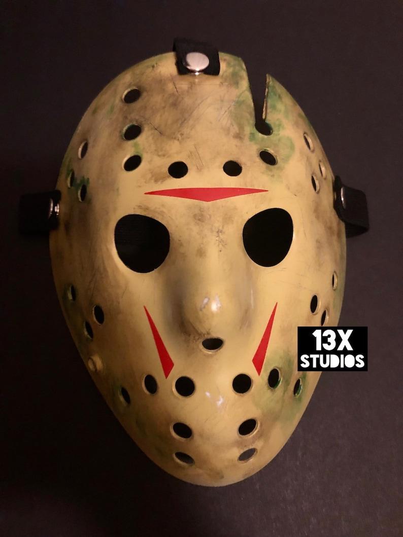 Friday the 13th part 8 Toxic Jason Custom 13X Studios Hockey image 0