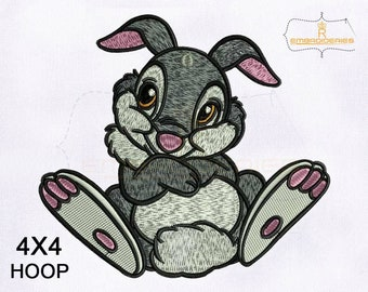 Innocent And Furry Thumper Machine Embroidery Design