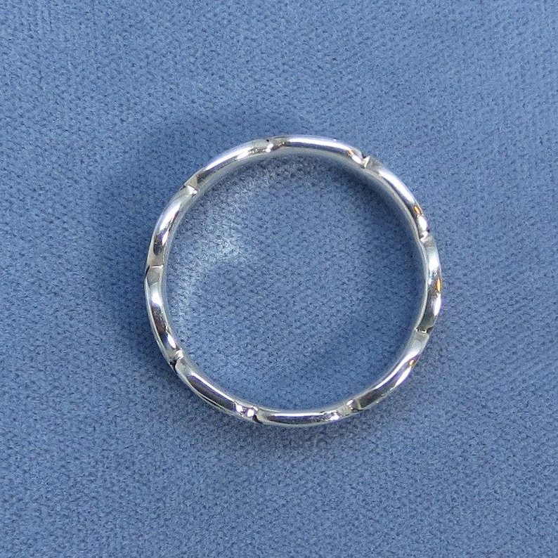 Size 11.5 12.5 or 13.5 Sterling Silver Celtic Band Ring Men/'s 930690