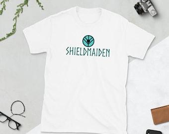 Lagertha The Shieldmaiden T-shirt | Viking Tee | Norse Clothing | Valhalla | Nordic Tshirt | Gift for Fans History Vikings TV Show Shirt