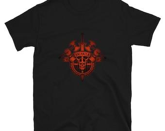 Valhalla T-Shirt - Norse Clothing, Odin Tshirt, Viking Tee Shirt, Vikings Shirts, Nordic Apparel, Berserker, Warrior, Shieldmaiden