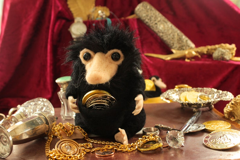 Nifflers Hand Made Fantastic Beasts Inspired Cute Niffler Plush Creatures Harry Potter