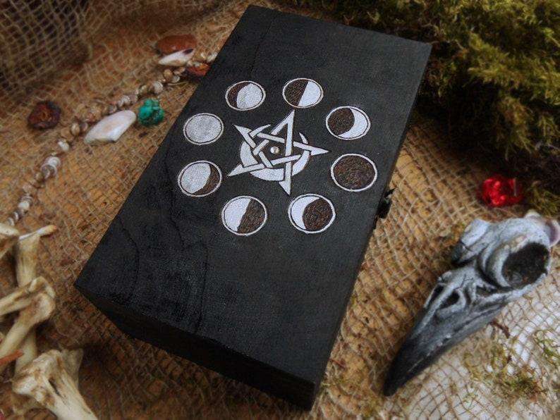 Lunar Wood Box