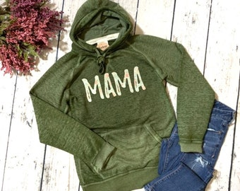 a730d7f5f806 Women s Mama Distressed Hoodie   Mama Floral   Floral   Gift   Hoodie     Mama    Spring    Mothers Day   Mom